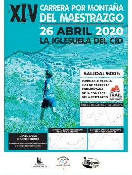 XIV CARRERA POR MONTAÑA LA IGLESUELA DEL CID 2020
