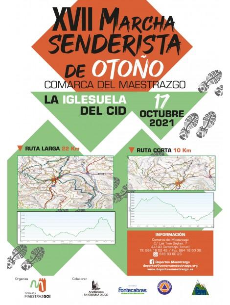 XVII SENDERISTA DE OTOÑO-LA IGLESUELA DEL CID